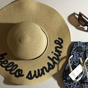 Hello Sunshine Straw Hat
